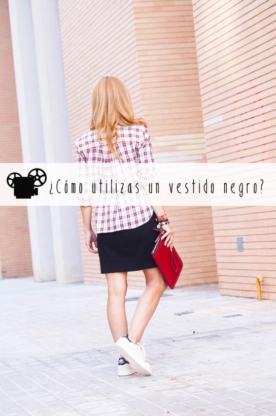 """Vídeo: Vestido negro """"diferentes looks"""""""