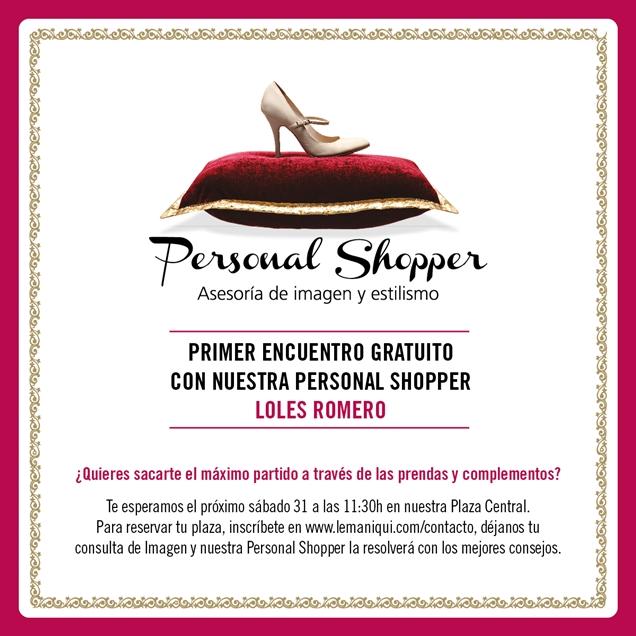 "Personal Shopper ""1er Encuentro C.C. El Saler"""