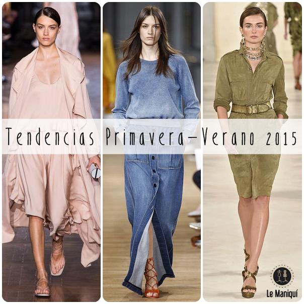Tendencias Primavera-Verano 2015: Colores