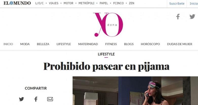 Le Maniquí en el Periódico El Mundo